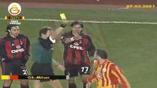 Okan Buruk'un Milan maçında gördüğü sarı kart