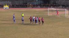 3 kez tekrarlanan penaltıyı kaleci ve stoper kurtardı