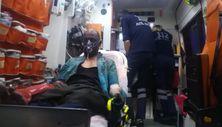 İzmir'deki yangında 10 kişi dumandan etkilendi