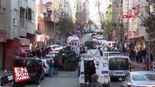Gaziosmanpaşa'da silahlı 2 kişi polisi harekete geçirdi
