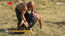 Ertuğrul Dağdeviren ve Durmuş Altın başaltı final maçı