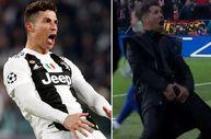 Ronaldo'dan Simeone'nin hareketine cevap