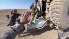 Türk askerinden, SMO askerlerine silah emniyeti eğitimi