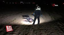 Telefonuna bakmayan genç kadını bıçakla öldürdü