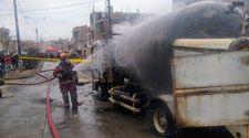 Peru'da gaz yüklü tanker patladı: 6 ölü, 45 yaralı