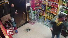 Siparişi gelmeyen şahıs silahla marketi bastı