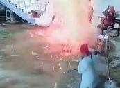 Ateşin etrafındayken koydukları konserve patladı