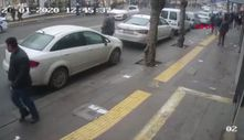 Ankara'da otomobilin çarptığı yaya yaralandı