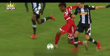 Faulsüz durdurulamayan futbolcu Kingsley Coman