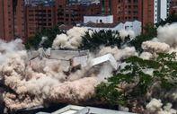 Escobar'ın efsane malikanesi patlayıcıyla yıkıldı