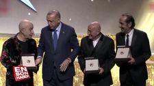 Cumhurbaşkanlığı Kültür ve Sanat Büyük Ödülleri sahiplerini buldu.