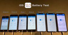iOS 13.3 batarya testi