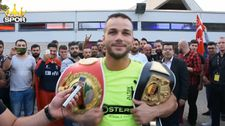 Türk boksör Şükrü Altay kıtalararası altın kemeri kazandı