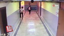 Okul koridorunda korku dolu anlar