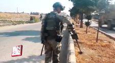 Barış Pınarı Harekat bölgesinde patlayıcı temizliği