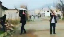 Teröristlerin bomba yüklü İHA'sını köylüler durdurdu