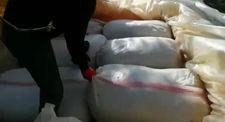 Diyarbakır 'ın Lice ilçesinde 5 ton 38 kilogram esrar ele geçirildi
