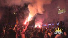 Galatasaray'ın şampiyonluğu tüm yurtta coşkuyla kutlandı
