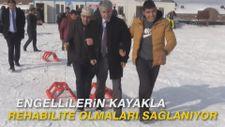 Engellilerin kayakla rehabilite olmaları sağlanıyor