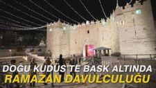 Doğu Kudüs'te baskı altında ramazan davulculuğu
