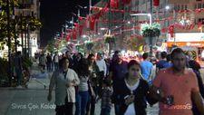 Sivas bayram üzeri 1,5 milyonu gördü