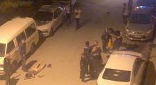 Kütahya'da genç çocuk sokak ortasında dayak yedi