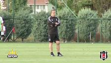 Beşiktaş pas çalışıyor