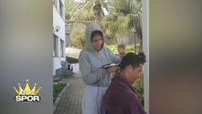 Ronaldo saçlarını sevgilisi Georgina'ya kestirdi