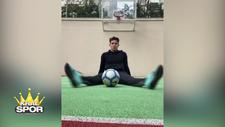 Fenerbahçeli Ferdi Kadıoğlu, basketbolda da iddialı