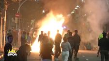 El Clasico'ya sokak olayları engeli