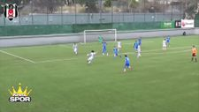 Beşiktaşlı genç oyuncu Emre Terzi'den harika gol