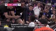 Marcelo, Lyon taraftarıyla tartıştı