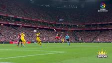 Aduriz'in Barcelona'ya attığı nefis röveşata golü