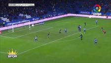 Emre Çolak önce gol attı sonra kırmızı kart gördü