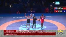 Rıza Kayaalp 4. kez dünya şampiyonu