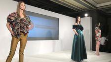 Suriyeli sığınmacıların kumaşları Londra Moda Haftası'nda