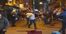 Taksim'de eğlence mekanı çıkışı kavga