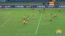 Talisca yine Çin'de harika bir gol attı