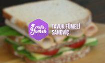 Tavuk Fümeli Sandviç tarifi