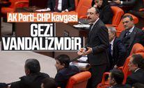 TBMM'de Gezi Parkı tartışması