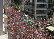 İsrail'de LGBT yürüyüşü