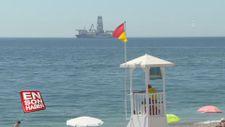 Yavuz sondaj gemisi Antalya körfezinde