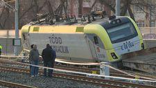 Ankara'da akaryakıt yüklü tren raydan çıktı