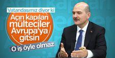 Türkiye'deki mültecilerin durumu Bakan Soylu'ya soruldu