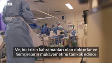 Koronavirüs: Yoğun bakım ünitesinde bir gün