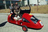 1 liralık enerji ile 180 kilometre yol yapabilen araç
