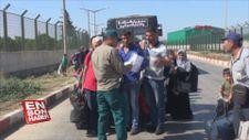Suriyelilerin Türkiye'ye dönüşü devam ediyor