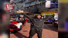 'Çinli Robin Hood' Çatıdan binlerce dolar saçtı