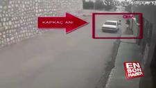 Kapkaççılar otomobildeki yazıdan yakalandı