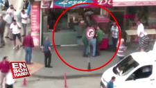 Kızının gözü önünde annesini öldürdü